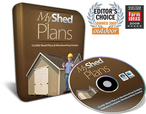 My Shed Plans Elite Medium